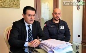 L'avvocato Massimo Proietti con Diego Raggi