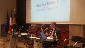 Gabriella Mecucci e l'assessore Fabio Paparelli