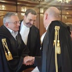 Tribunale di Terni, D'Aprile in visita