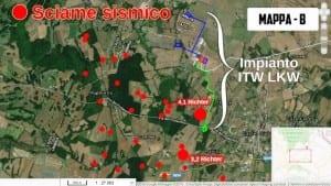 Castel Giorgio terremoto sciame sismico