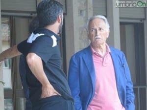 Fabrizio Larini a colloquio con Panucci il 17 luglio