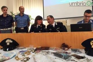 Rapina in Umbria: «Brillante operazione»