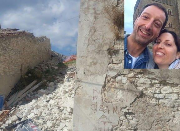 Barbara e Matteo uccisi dal terremoto