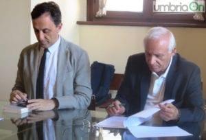 Giorgio Armillei e Leopoldo Di Girolamo