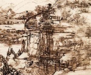 Il dettaglio con - forse - la Cascata