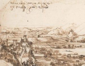 Il dettaglio con - forse - Torre Orsina