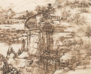 La Cascata delle Marmore vista da Leonardo da Vinci