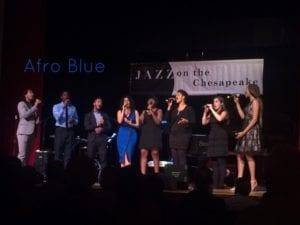 Irene con gli 'Afro Blue'