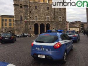 Le forze dell'ordine circondano palazzo Spada