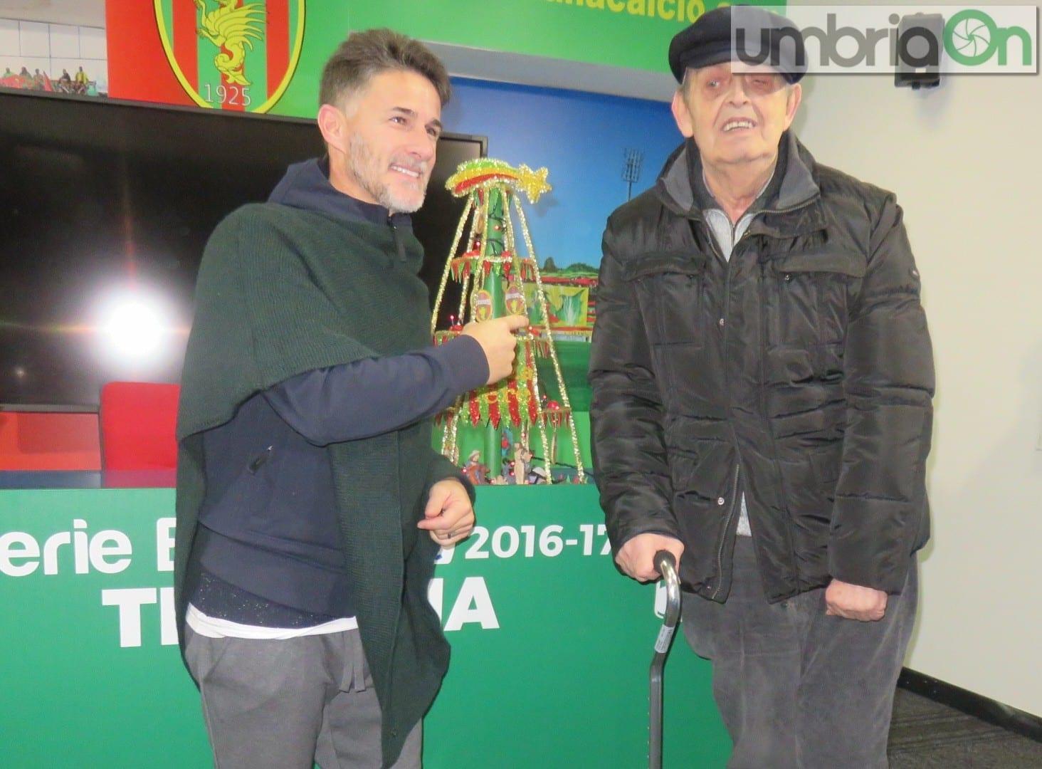 Ternana-Vicenza 1-2, Benito Carbone :