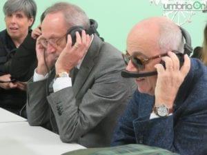 Luigi Carlini e Ulrico Dragoni durante la prova