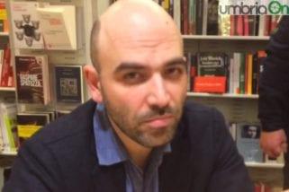 Mafia, Saviano: «Umbria attenzione»