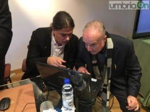 Luca Tomìo e Miro Virili