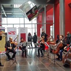 Aeroporto di Perugia, mattinata musicale