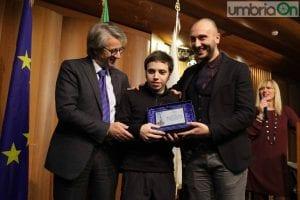 La premiazione di Gabriele Scorsolini (foto Mirimao)