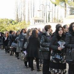 Terni, festa in basilica per le nozze d'argento