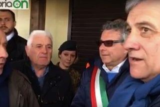 Terremoto, Tajani: «Sae, case vere»