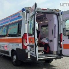 Terni, incidente stradale alla portineria Ast: un ferito