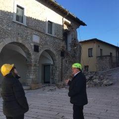 Preci, prove di ripresa dopo il terremoto