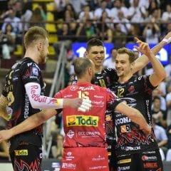 Volley, Sir Perugia pareggia i conti