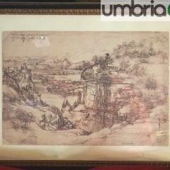 Disegno di Leonardo, Terni diserta Milano