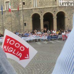 1000 Miglia a Terni: limiti al traffico