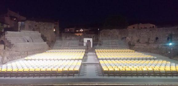 Tutto pronto per lo spettacolo delle 'star' di Amici all'anfiteatro