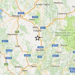 Terremoto in Umbria, martedì scossa 3.2