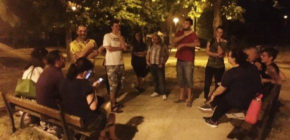Terni, David Raggi: «Festa per un amico»
