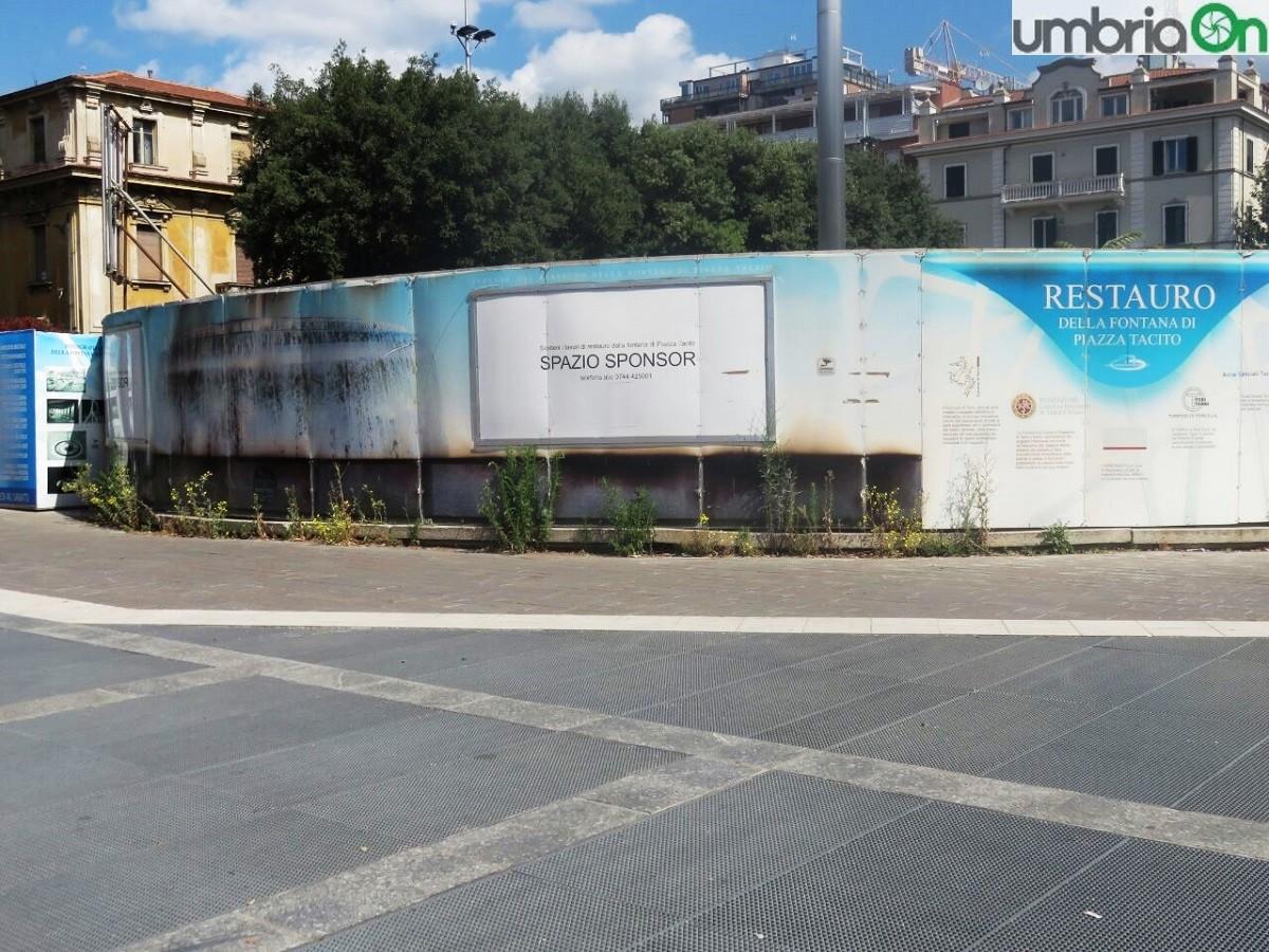 Risultati immagini per degrado  piazza tacito terni