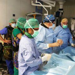 Ospedale di Perugia, salvata 62enne