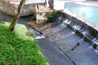 La cascata di Bevagna: com'era e com'è ora