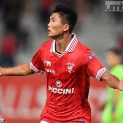 Calcio, Perugia i dolori del giovane Han