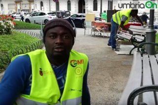 Dal Senegal a Perugia: «Mi piace l'Italia»