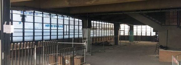 'Concerto dai balconi', ma ex mercato vuoto