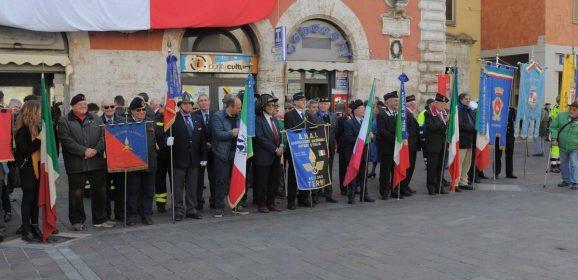 Terni, unità nazionale: celebrazioni in città