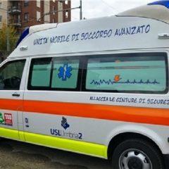 All'ospedale di Amelia una nuova ambulanza