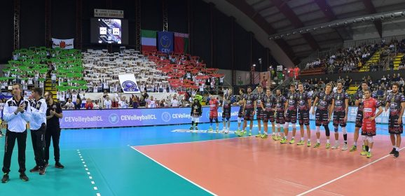Volley, Sir Perugia: derby in Champions