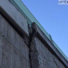 Terni, crepe sul ponte: struttura da verificare