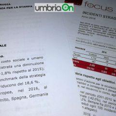 Incidenti in Umbria: dati di Aci e Istat