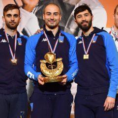 Scherma, Parigi: Foconi trionfa, medaglia d'oro