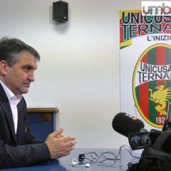 Ternana ad Ascoli: «Niente nervosismi»