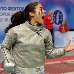 Europei di Sochi, Lucia Lucarini d'argento