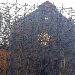 La Basilica rinascerà dove è sempre stata