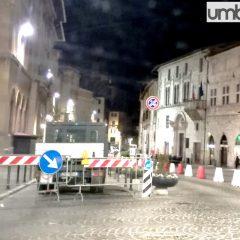 Il centro di Perugia è tutto un cantiere