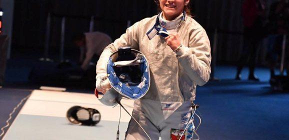 Scherma, Lucarini bronzo mondiale