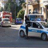 Terni, cade intonaco in via Porta San Giovanni