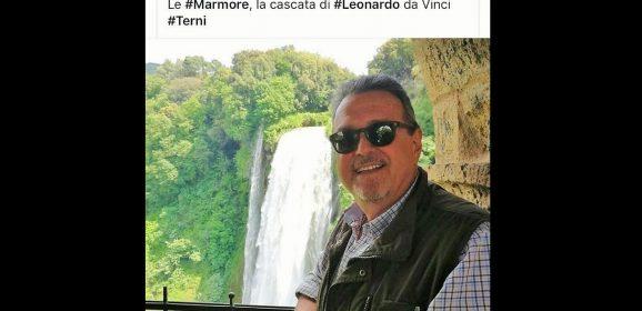 «Intitolare belvedere Cascata a Leonardo»