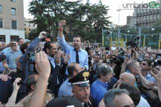 Salvini spinge Latini: «Un sindaco 'pulito'»