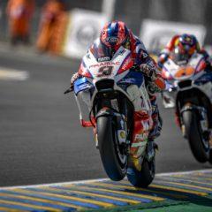 Danilo Petrucci in 1° fila a Le Mans